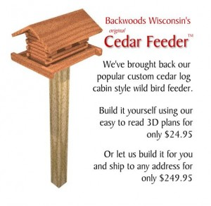 cedar-log-cabin-bird-feeder